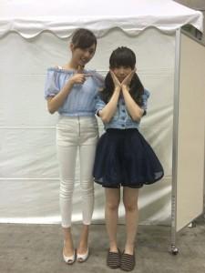 2014年6月21日神奈川個別握手会・秋元真夏の私服