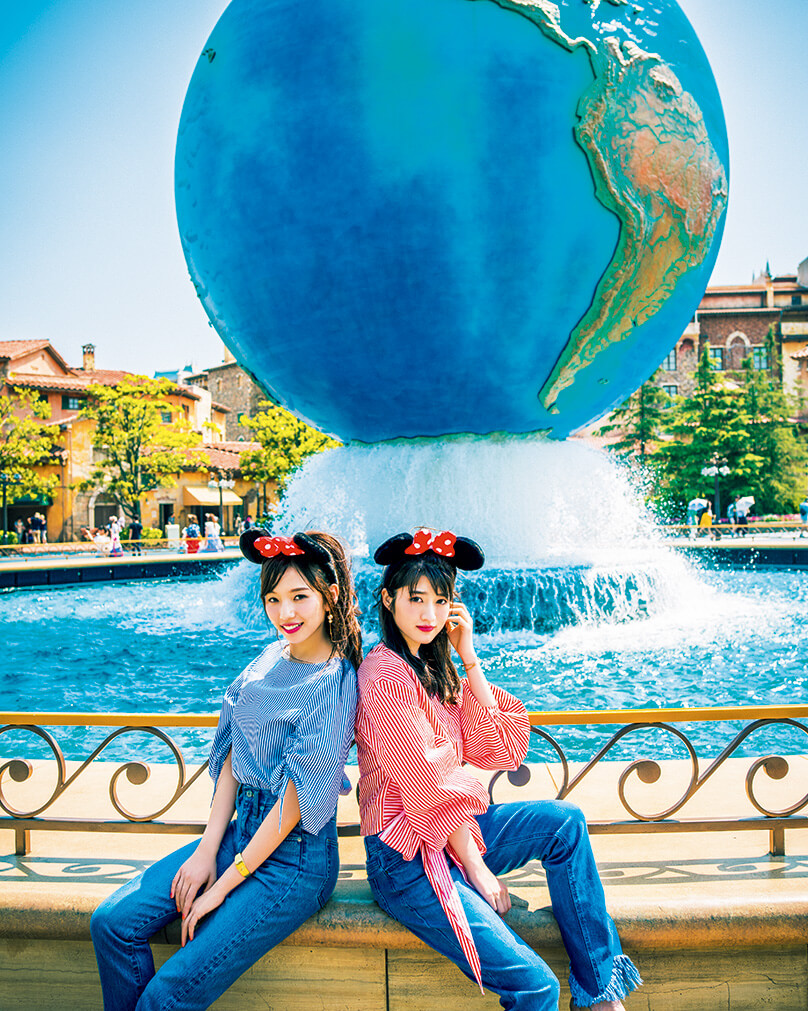 「andGIRL」2017年9月号(モデル:新内眞衣、若月佑美/発行:エムオン・エンタテインメント)