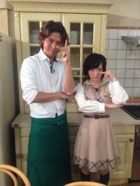 有坂翔太(左)、生駒里奈(右)