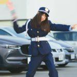 ディップ「バイトル」新CM 第6弾「警備員」篇の1シーン(出演:齋藤飛鳥ほか)