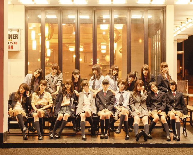 乃木坂46・7thシングル「バレッタ」アーティスト写真