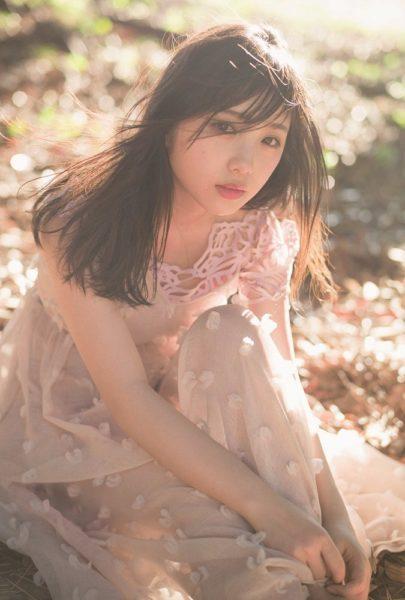 乃木坂46・与田祐希ポストカード(「B.L.T.」2018年9月号・TOKYONEWS magazine&mook購入者特典)