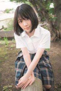 欅坂46・森田ひかる(「B.L.T. SUMMER CANDY 2019」購入特典ポストカード)