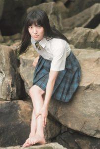 AKB48・下尾みう(「B.L.T. SUMMER CANDY 2019」購入特典ポストカード)