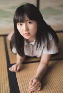 HKT48・田中美久(「B.L.T. SUMMER CANDY 2019」購入特典ポストカード)