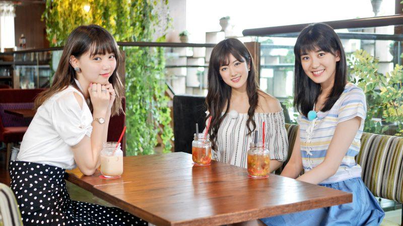 乃木坂46樋口日奈が「BOMBER-E」P-ナイトで江野沢愛美、X21小澤奈々花と初対面女子会