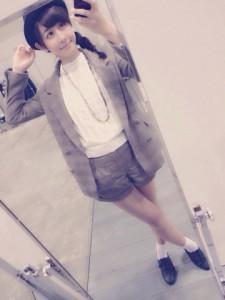 4/20パシフィコ横浜個別握手会にて、斎藤ちはるの私服