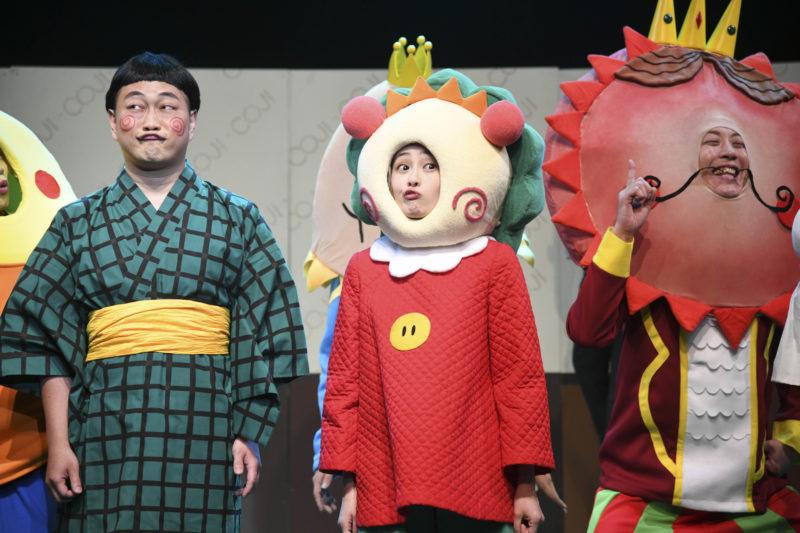 大神拓哉、向井葉月、中村ヒロユキ(舞台『コジコジ』)