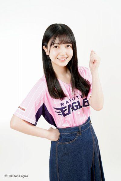 乃木坂46・久保史緒里(2020イーグルスガールイメージキャラクター)