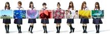 HTC J butterflyの「みんなでつくるカラフルアート」を3月より新宿駅に掲載