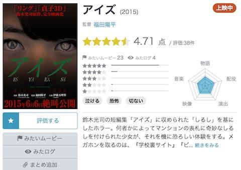 伊藤万理華初主演「アイズ」がYahoo!映画レビュー1位、「泣ける」「切ない」と話題で異例のランクイン