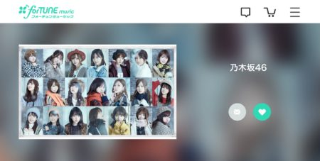 forTUNE music(乃木坂46・22ndシングル「帰り道は遠回りしたくなる」)