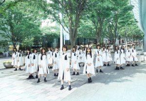 けやき坂46(ひらがなけやき)1stアルバム「走り出す瞬間」アーティスト写真
