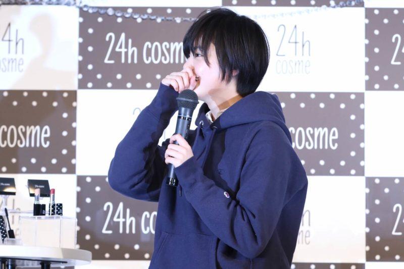 平手友梨奈、「24h cosme」新ブランドミューズ就任&新CMお披露目会見