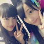 乃木坂46堀未央奈がSKE48松井玲奈との写真を公開