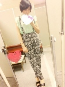 5月18日・愛知個別握手会、市來玲奈の私服