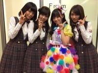 (左から)深川麻衣、西野七瀬、橋本環奈、桜井玲香