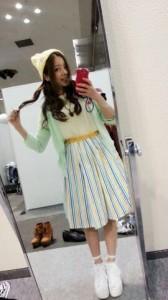 京都個別握手会、川村真洋の私服