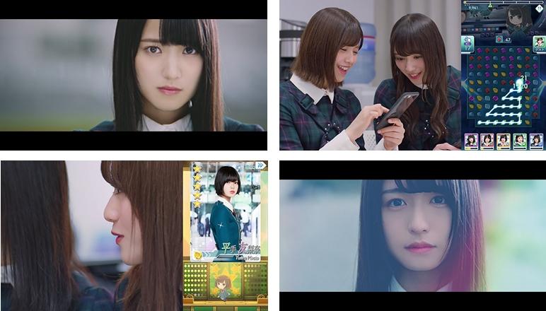 100万DL突破の欅坂46公式ゲームアプリ『欅のキセキ』のTVCMが放映開始