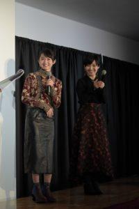 「KYOTO NIPPON FESTIVAL」スペシャルトークショーに登壇した伊藤万理華と永島千裕