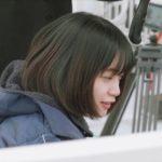 深川麻衣(WEBドラマ「恋を落とす」メイキング映像より)