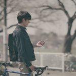 WEBドラマ「恋を落とす」の1シーン