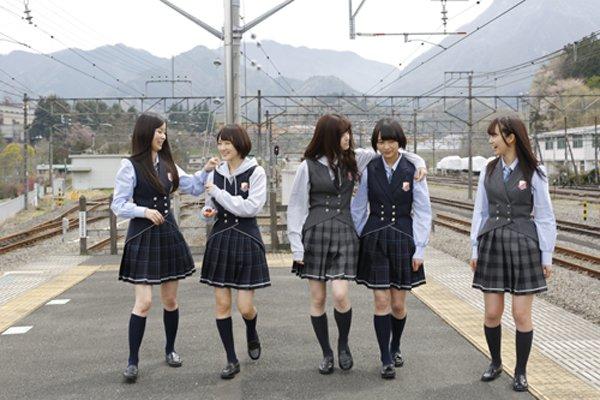 「月刊ニュータイプ」で乃木坂46新連載スタート、第1回は「ここさけ」聖地巡り企画
