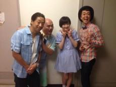 (左から)団長、クロちゃん、生駒里奈、ヒャダイン