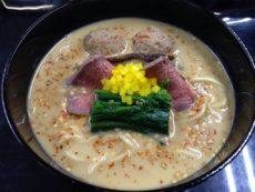 「KYOTO NIPPON FESTIVAL」吉兆限定フード「京丹後産鹿肉のつくねと塩チャーシュー入り担々麺」