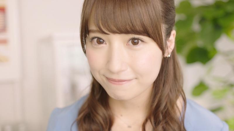 衛藤美彩と夕方から「乾杯!」 明治WEB限定動画「カフェスペースで」篇が公開