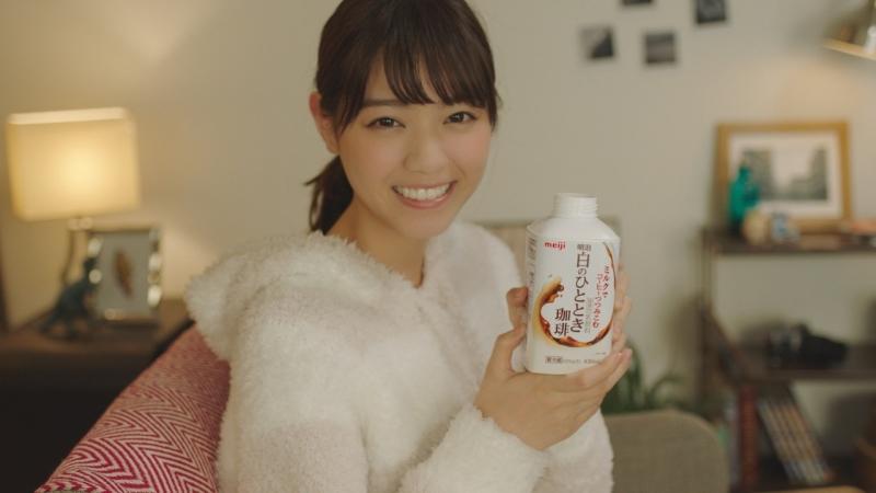 西野七瀬に見惚れる74秒 明治WEB限定動画「甘える彼女と」篇が公開