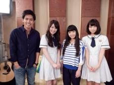 (左から)K、高山一実、miwa、深川麻衣