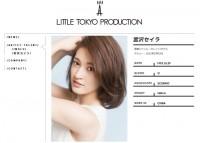 株式会社リトルトウキョウプロダクションの宮沢セイラプロフィールページ