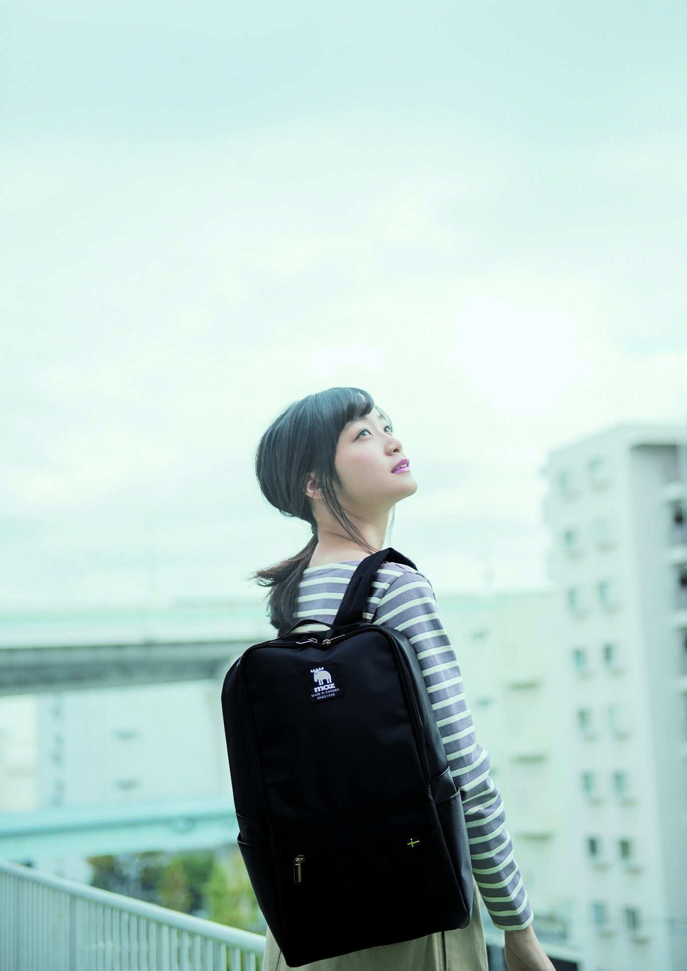 深川麻衣×moz BIG BACKPACK
