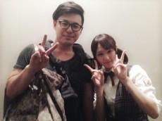 アルコ&ピースの平子祐希さん(左)と永島聖羅(右)