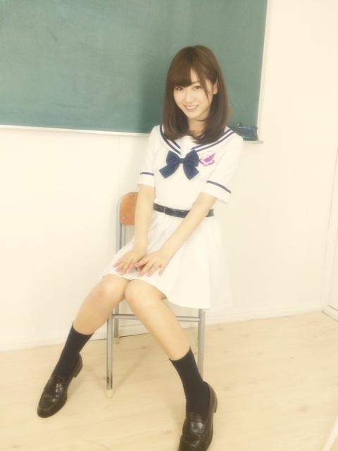ジェニック同期・中村葵の乃木坂46制服コスプレに井上小百合「嬉しい!」