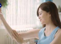 TVCM「ニベア マシュマロケア 抱きしめてもらえる篇」8(出演:白石麻衣)