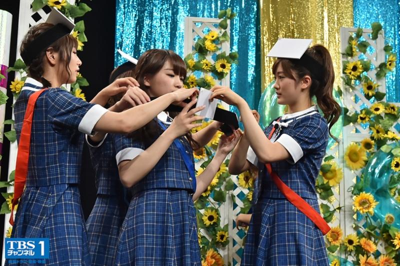 秋元真夏のハプニングに川後陽菜のリベンジも「乃木坂46えいご」第12回は夏の公開収録SPの未公開編