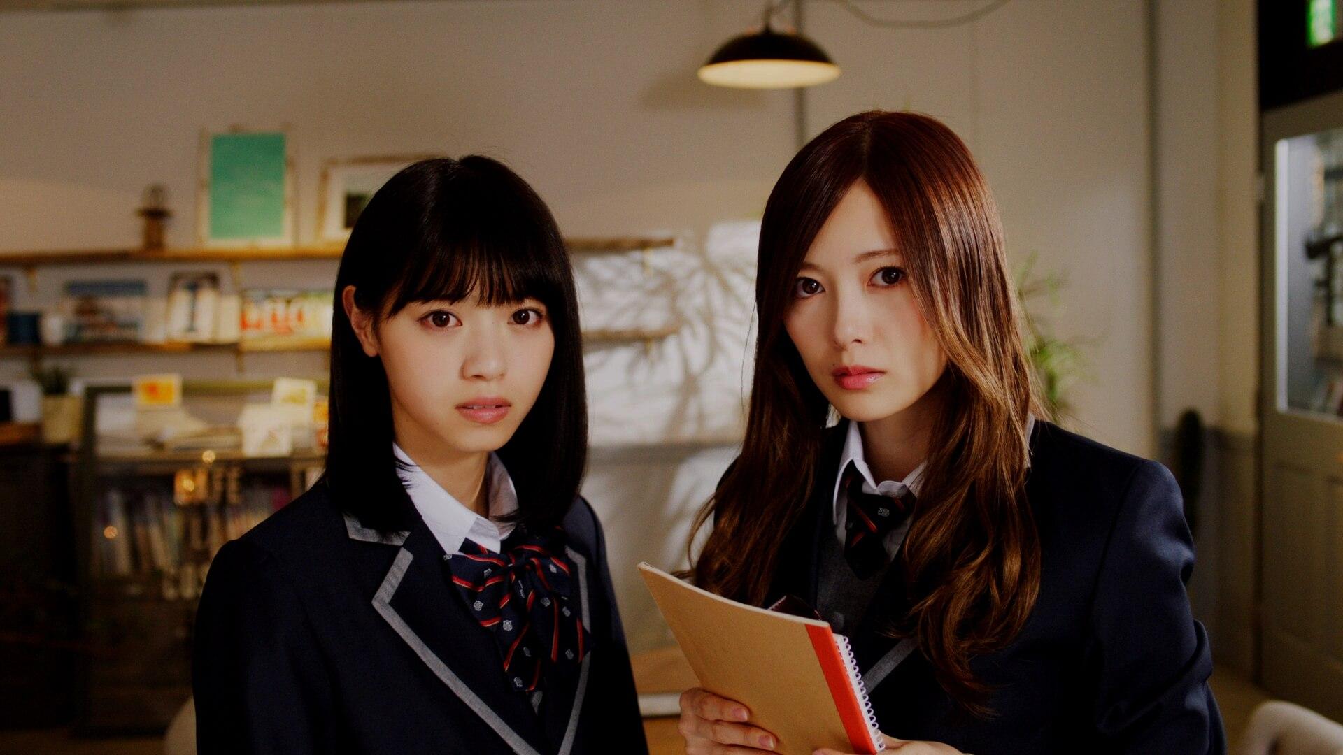 『乃木恋』テレビCM「一周年:白石×西野」篇
