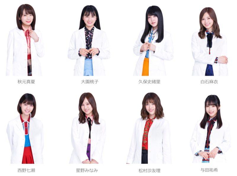 乃木坂46×「LINE Clova実験室」参加メンバー