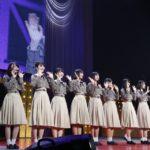 初ライブを終えた4期生(「乃木坂46 4期生お見立て会」)