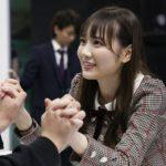 4期生最年長の田村真佑(「乃木坂46 4期生お見立て会」)