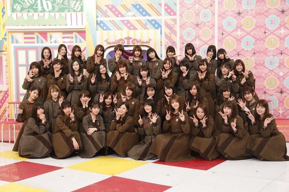 「乃木坂46 6th Birthday記念 緊急特別番組『乃木坂46分TV』」集合写真