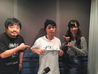 (左から)バカボン鬼塚、DECO*27、乃木坂46斉藤優里 ©FM NACK5