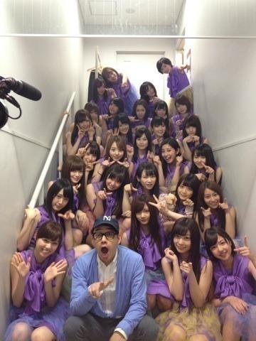 バナナマン設楽、濱口兄弟が乃木坂46の公演を観覧