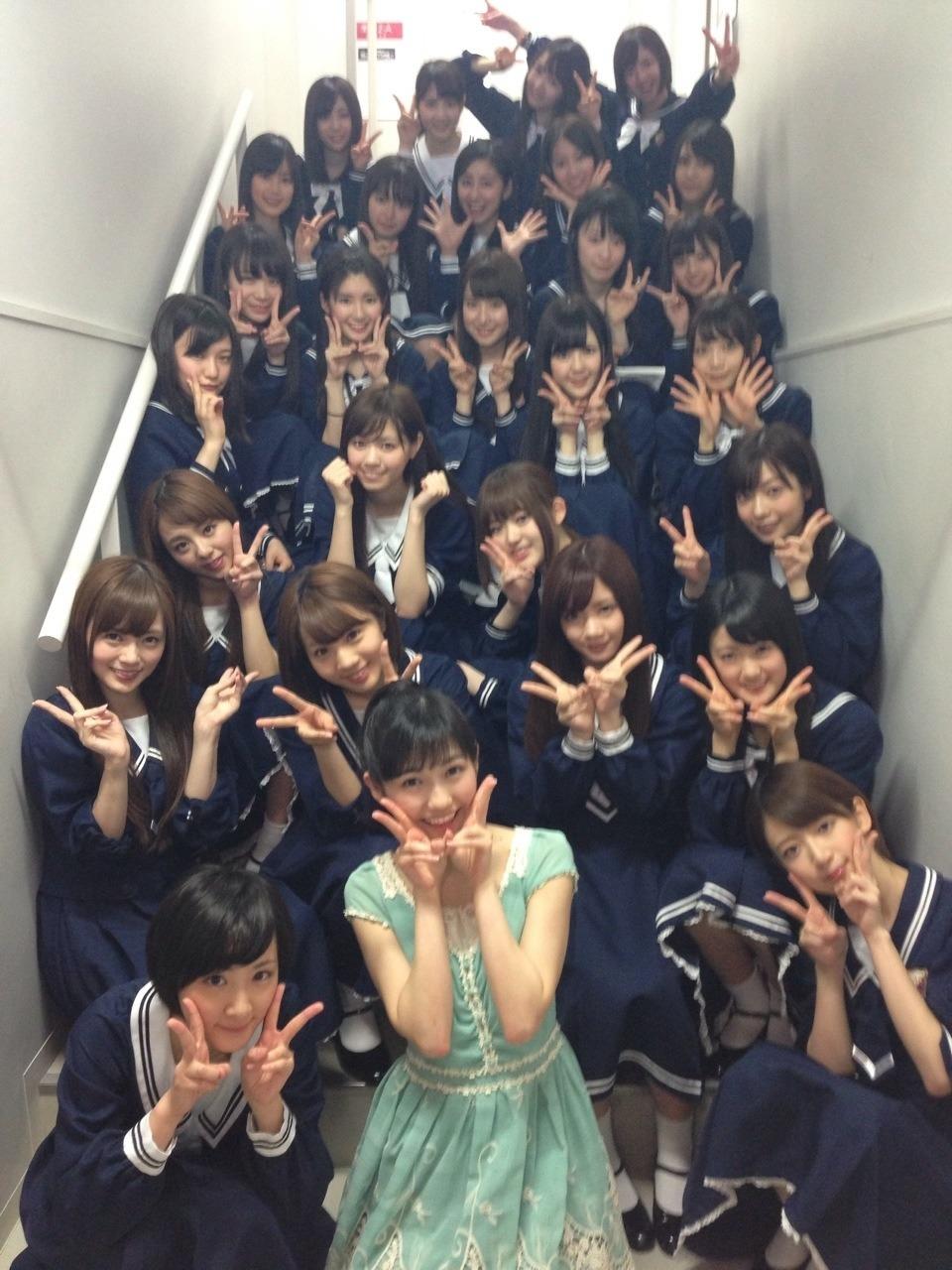 渡辺麻友が再び乃木坂46の公演を観覧