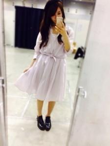 4月20日神奈川個別握手会で桜井玲香が着た私服