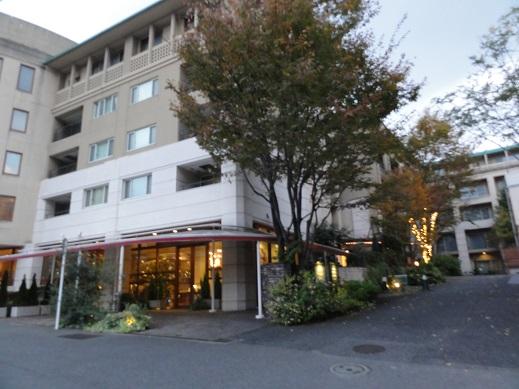 研修先のホテル