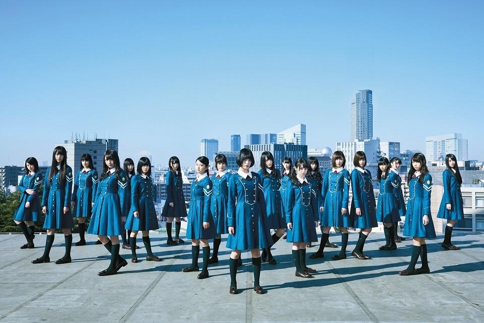 欅坂46・1stシングル「サイレントマジョリティー」アーティスト写真