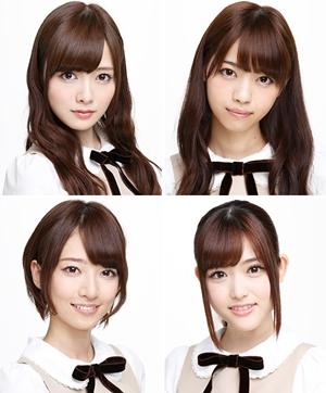 乃木坂46白石、西野、橋本、松村がフジテレビの大晦日特番に出演